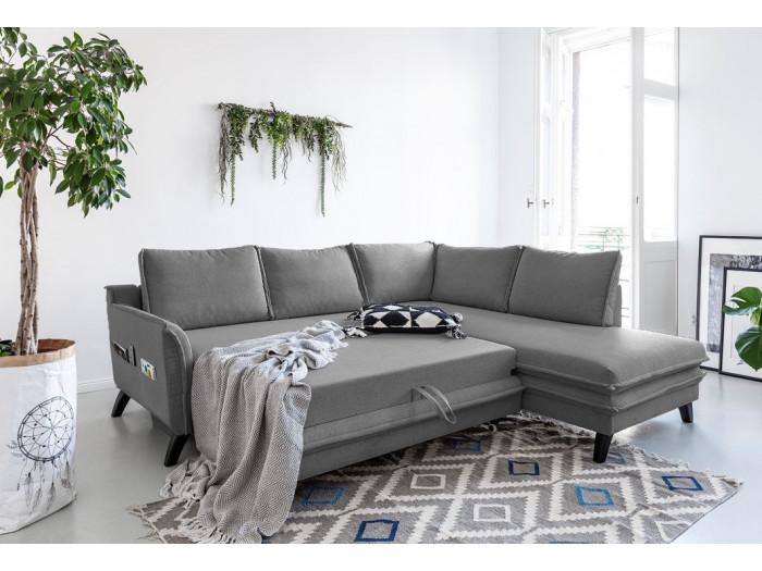 Sofá de la esquina de L BOHO