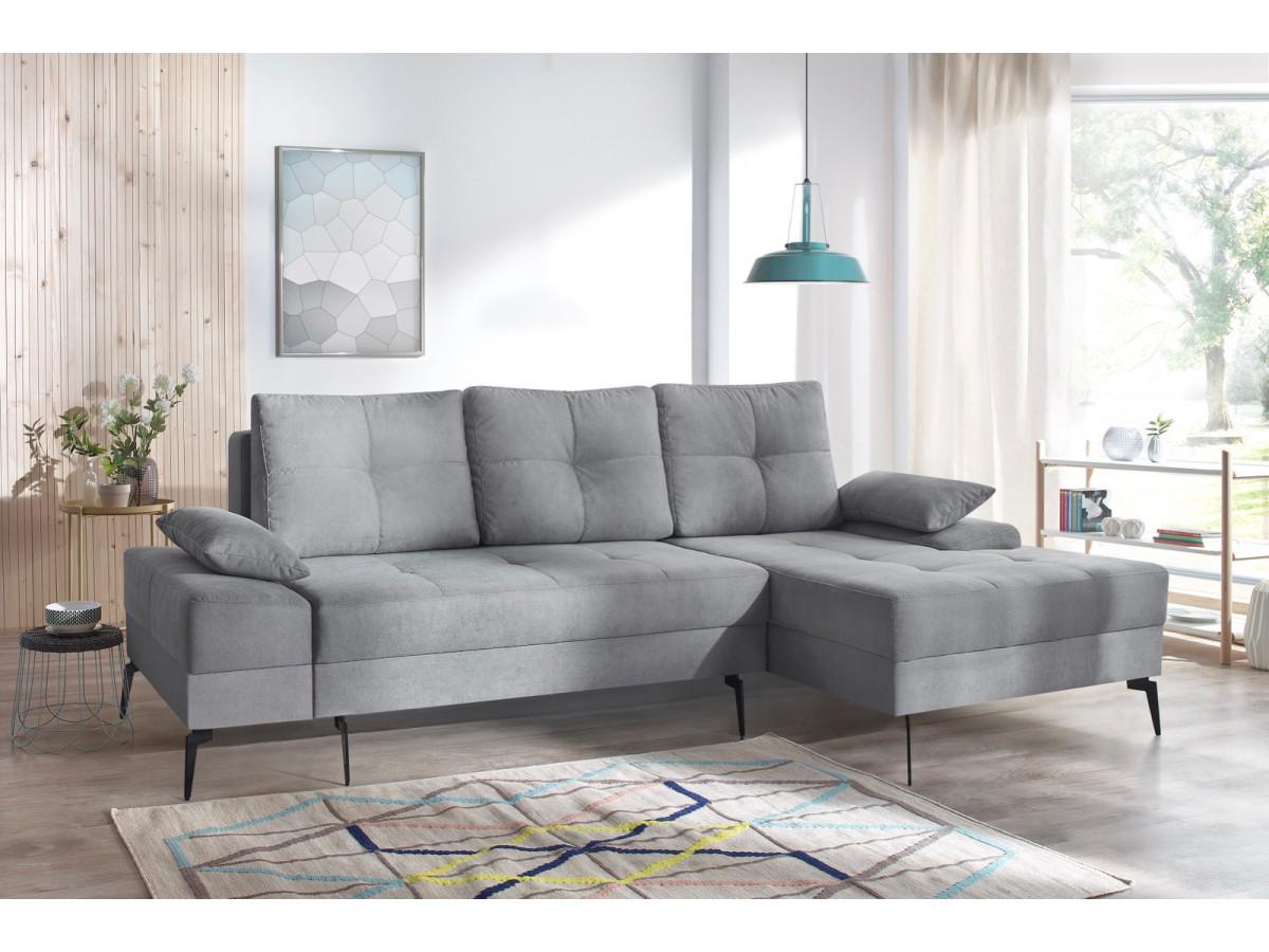 canap d 39 angle convertible avec coffre sven iii bobochic. Black Bedroom Furniture Sets. Home Design Ideas