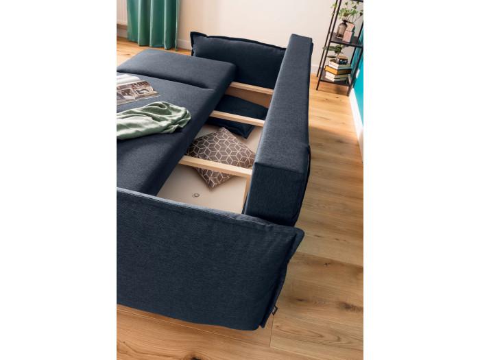 Sofa 3-osobowa z miękkim dachem mini LENA