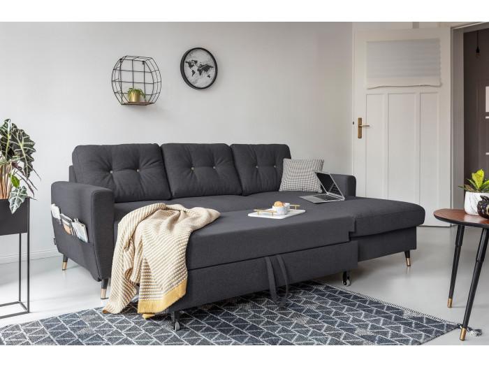 Peachy Canape Dangle Anti Tache Convertible Avec Coffre Scandi Deluxe Creativecarmelina Interior Chair Design Creativecarmelinacom