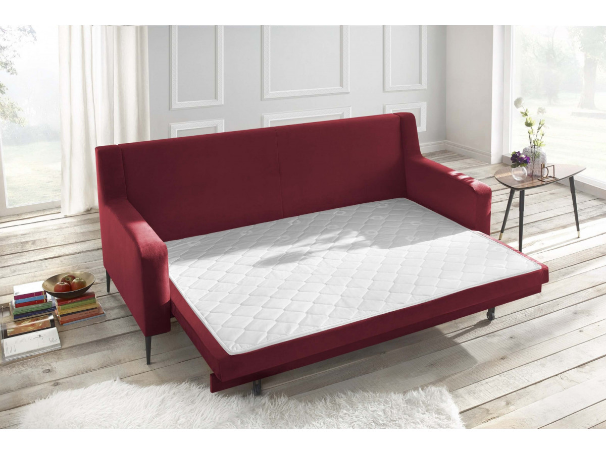 canap droit convertible bergen bobochic paris. Black Bedroom Furniture Sets. Home Design Ideas