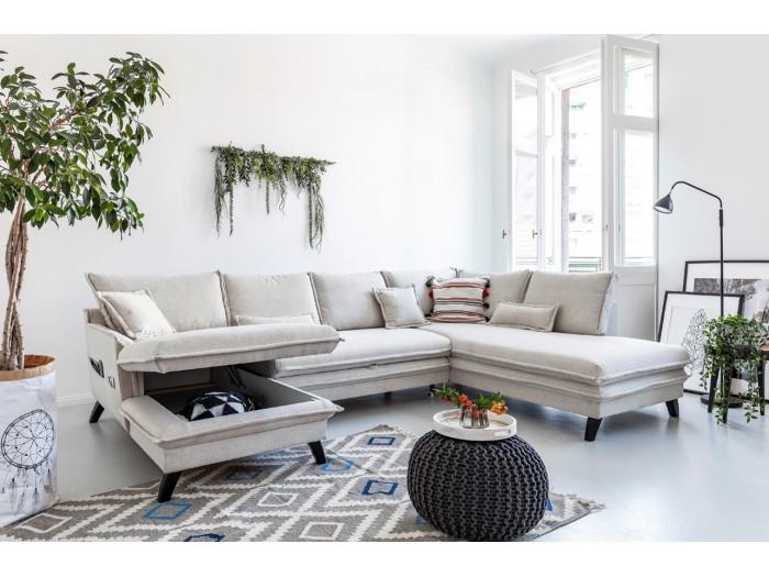 Sofa z widokiem z miękkim dachem mini BOHO
