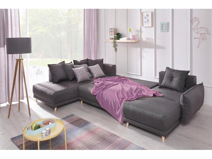 Sofa z widokiem LENA z miękkim dachem mini