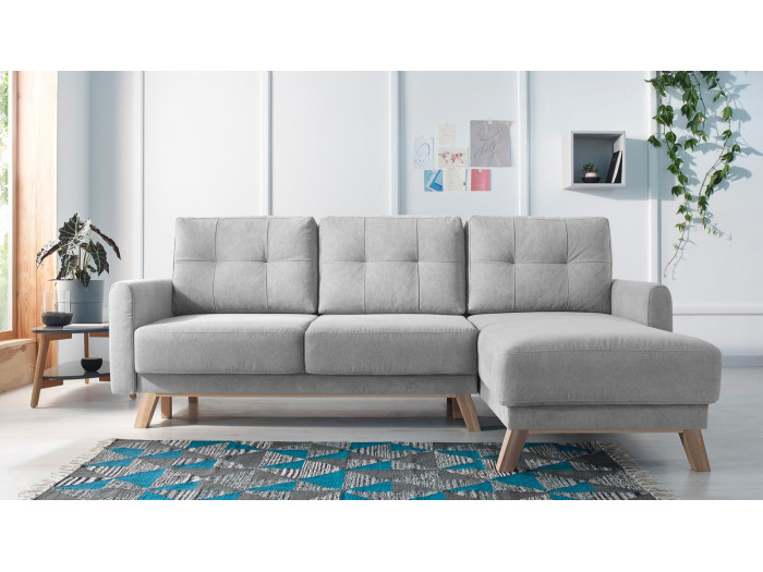 Corner sofa convertible with trunk BALIO