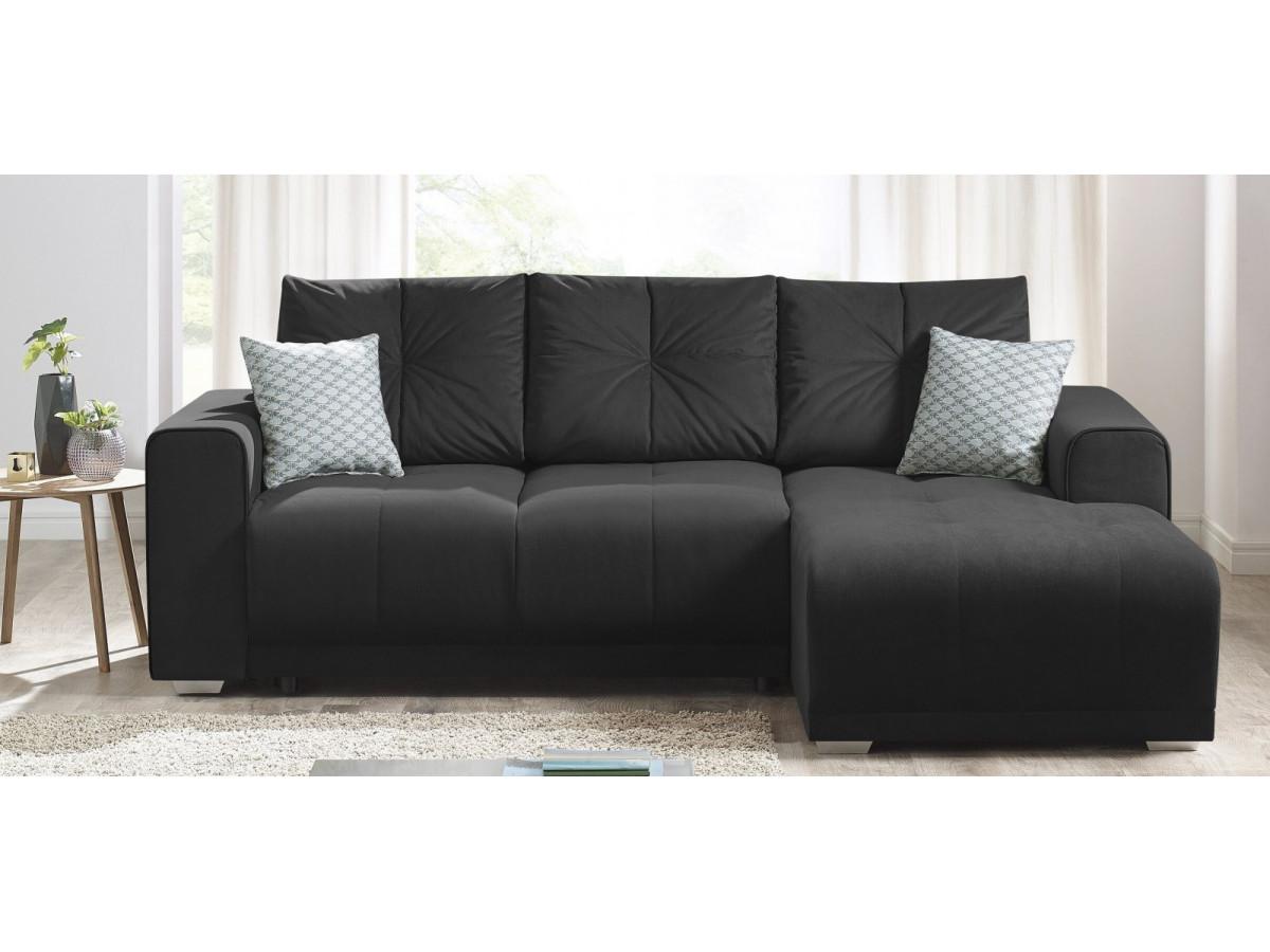 canap d 39 angle convertible lisbona coussins d co offerts bobochic paris. Black Bedroom Furniture Sets. Home Design Ideas