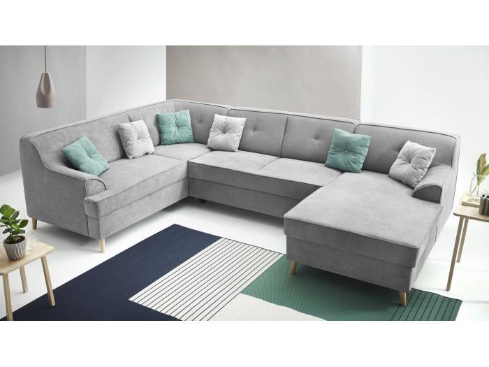 Sofa z widokiem z miękkim dachem ALFA