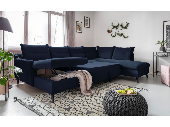 Wondrous Corner Sofa Panoramic Xxl Convertible Trunk Bergamo Bobochic Uwap Interior Chair Design Uwaporg