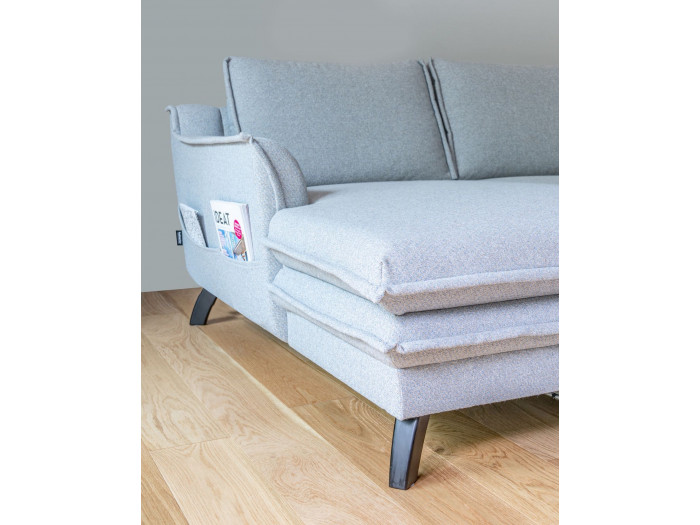 Corner Sofa Convertible Trunk Boho