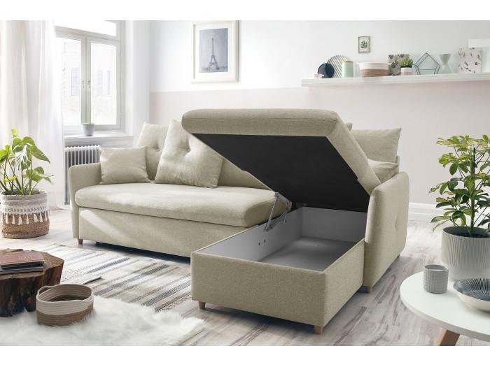 Canapé d'angle convertible réversible DOLLY