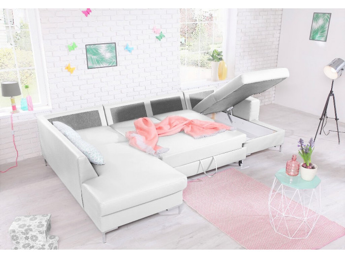 Sofa U cabrio sejf