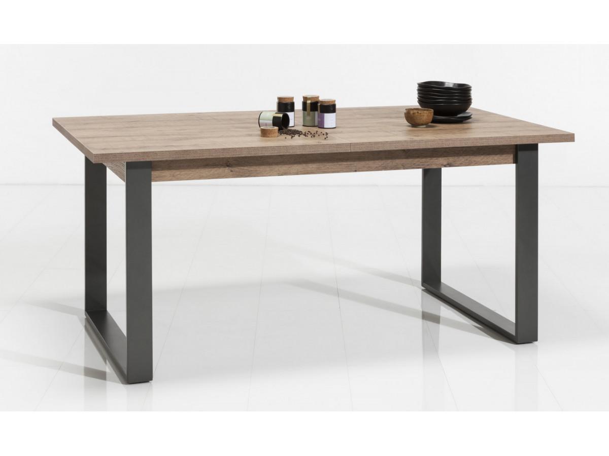 TABLE DE REPAS AVEC ALLONGE LAFABRICA SEJOUR