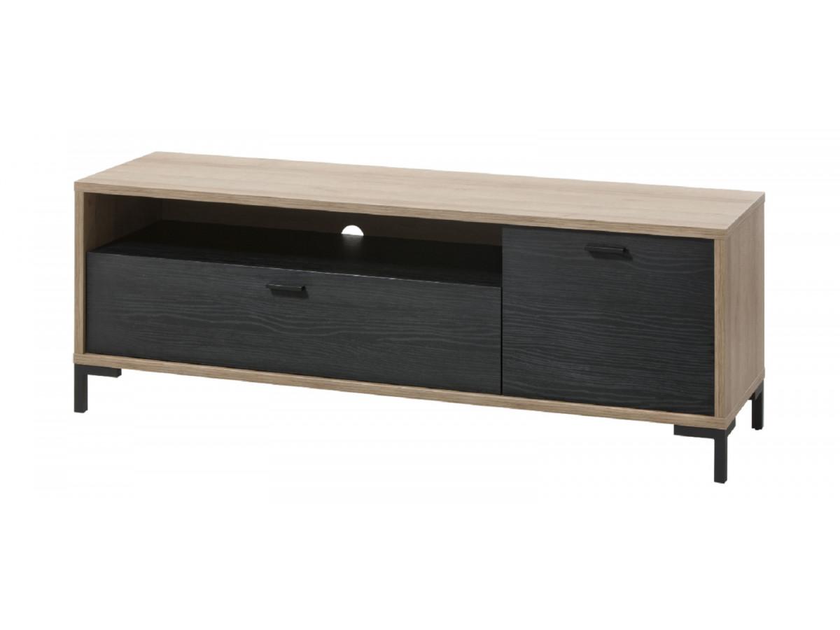meuble TV 1 porte, 1 abattant FABRIKA séjour
