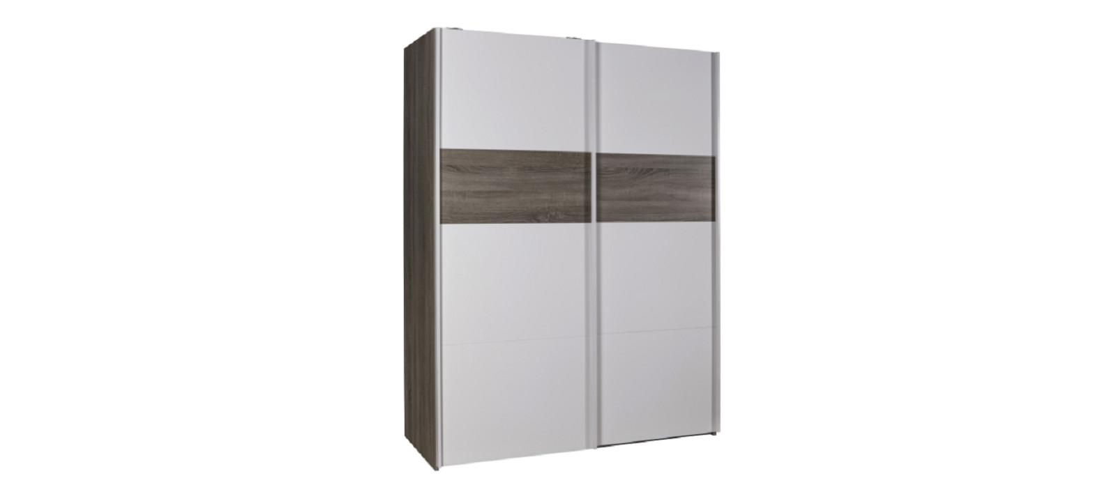 Armoire 2 portes coulissantes 150x200 LIVIA chambre