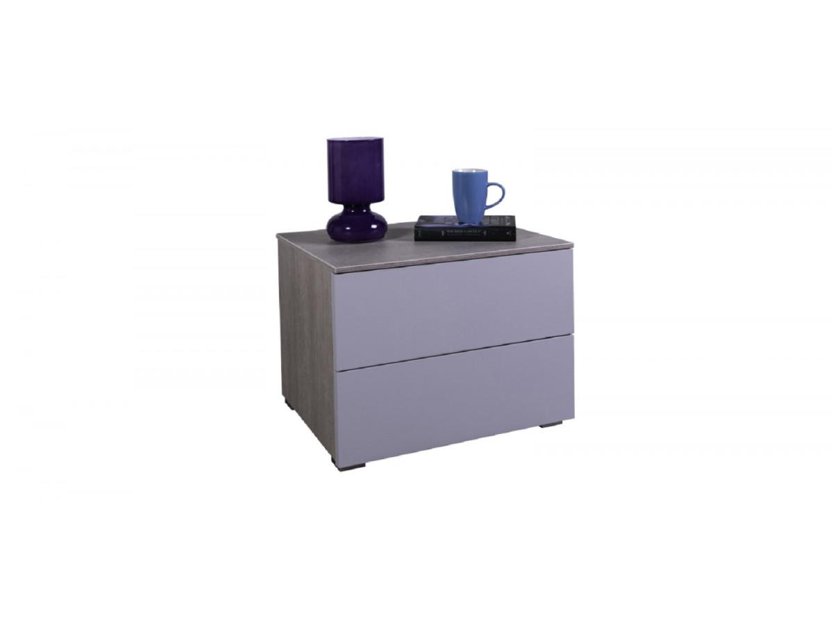Chevet 2 tiroirs VERA chambre