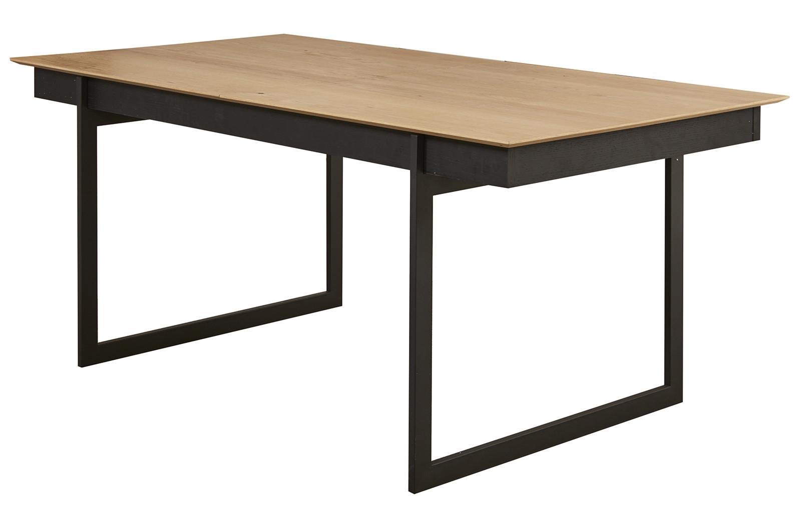Table À Manger Industrielle table a manger style industriel toscana avec rallonge