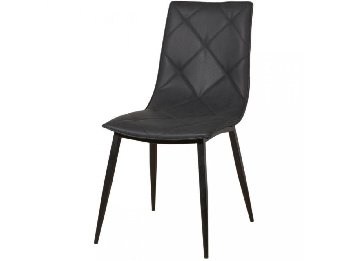 lot de 4 chaises en cuir GLASGOW