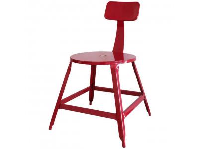Lot de 2 chaises en métal style industriel VETRO