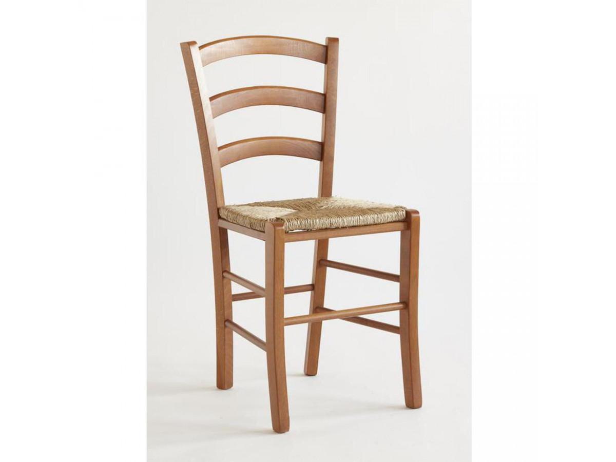 Lots de 2 chaises en bois naturel PAYSANNE