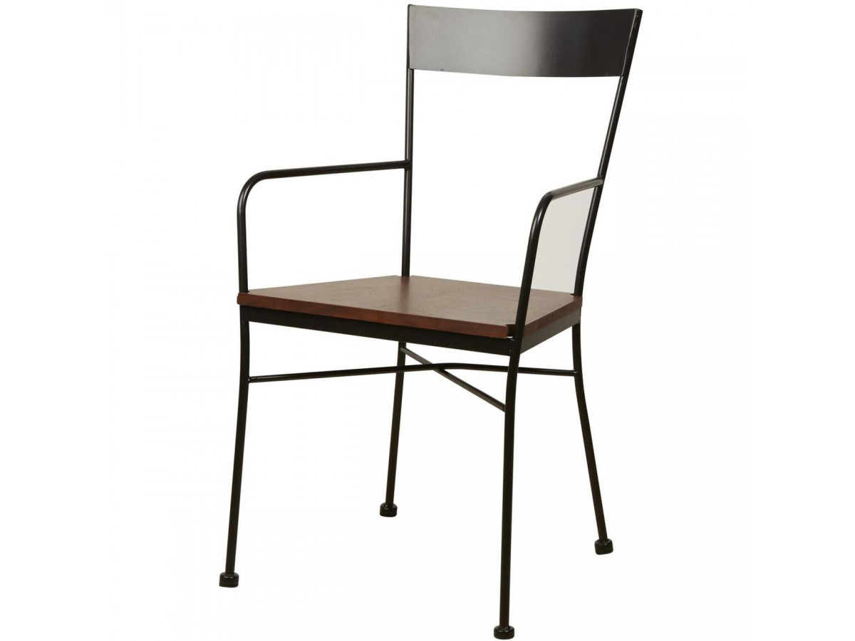 Lot of 2 chairs metal industrial style VOLTAGE