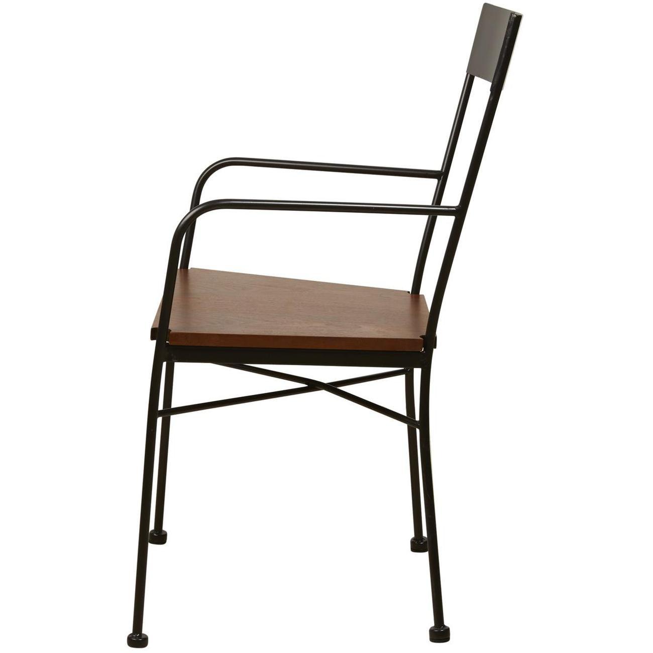Chaises en métal style industriel VOLTAGE