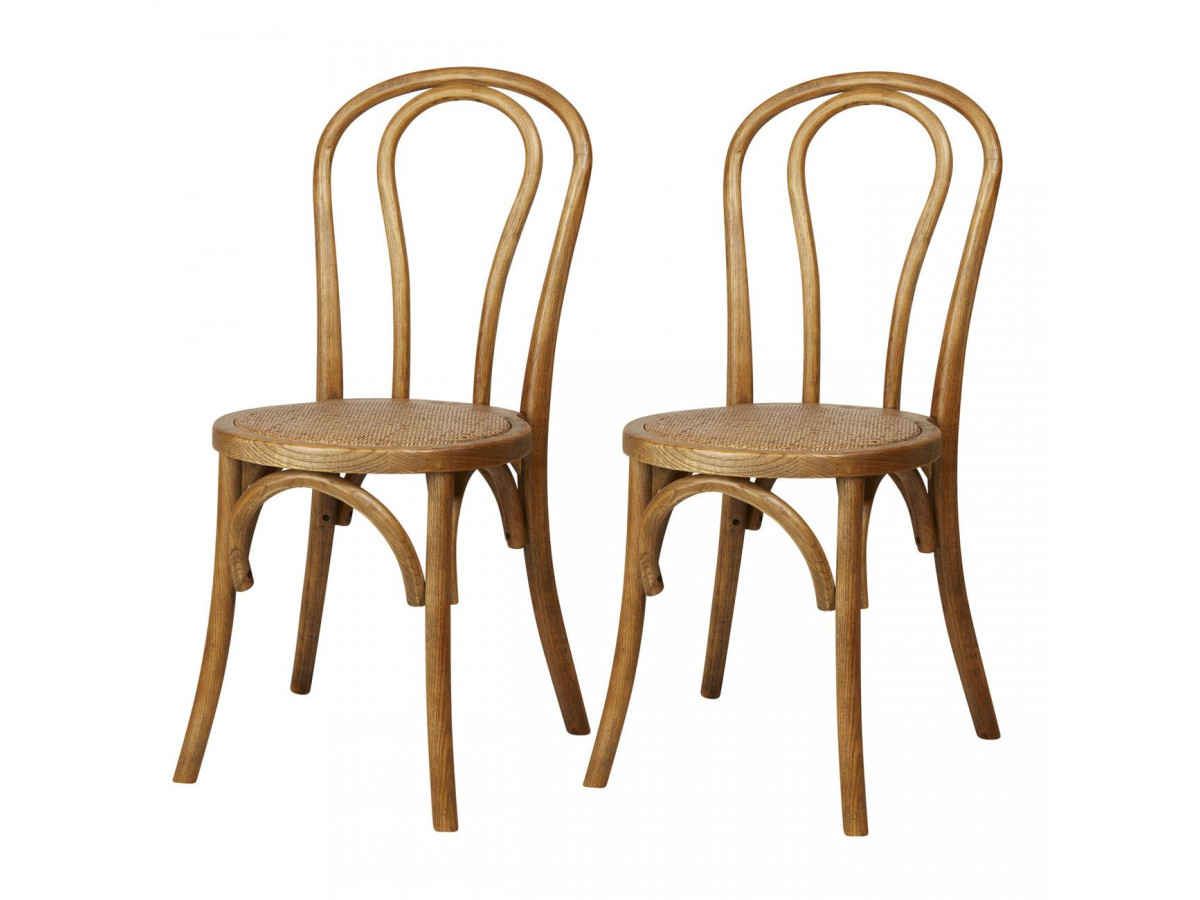 Lot of 2 chairs MONTMARTRE