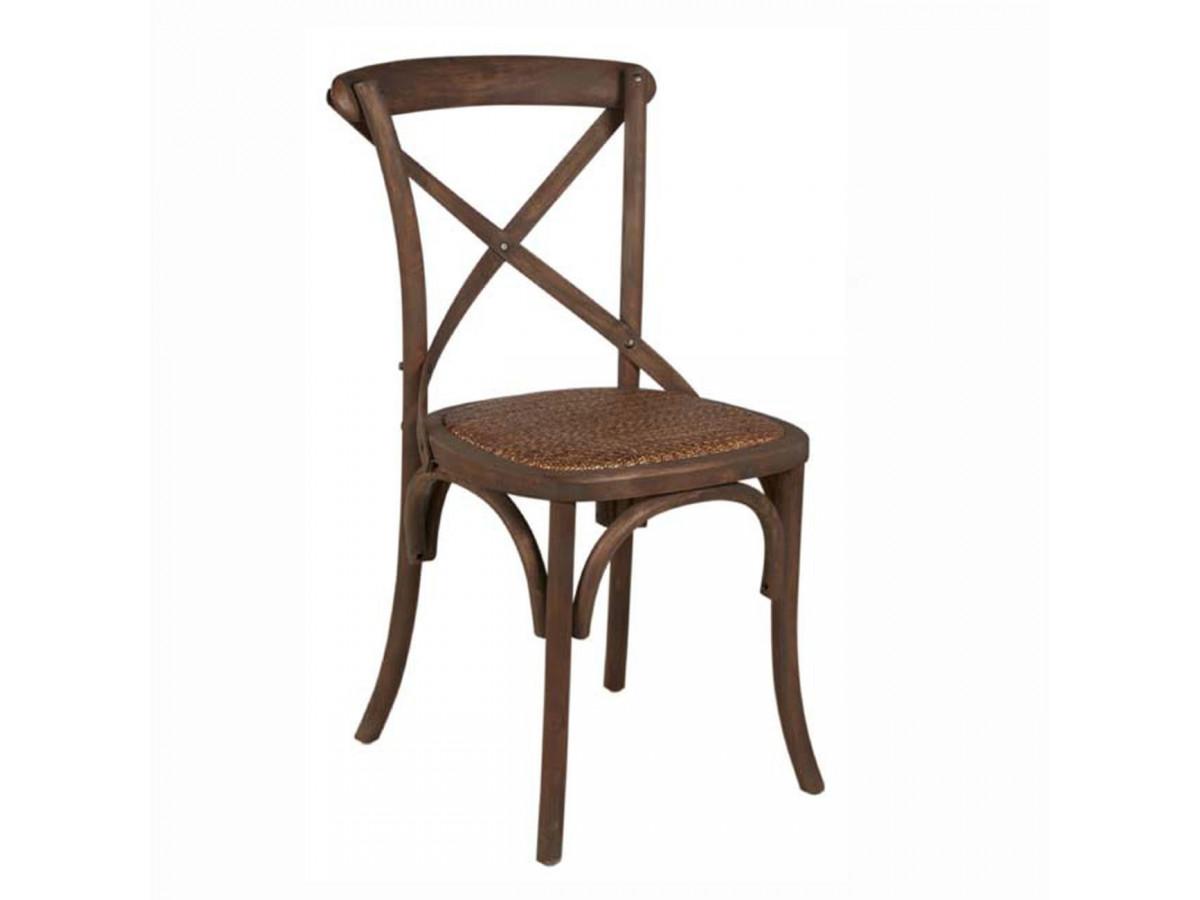 Chaise en bois bouleau ROMANCE