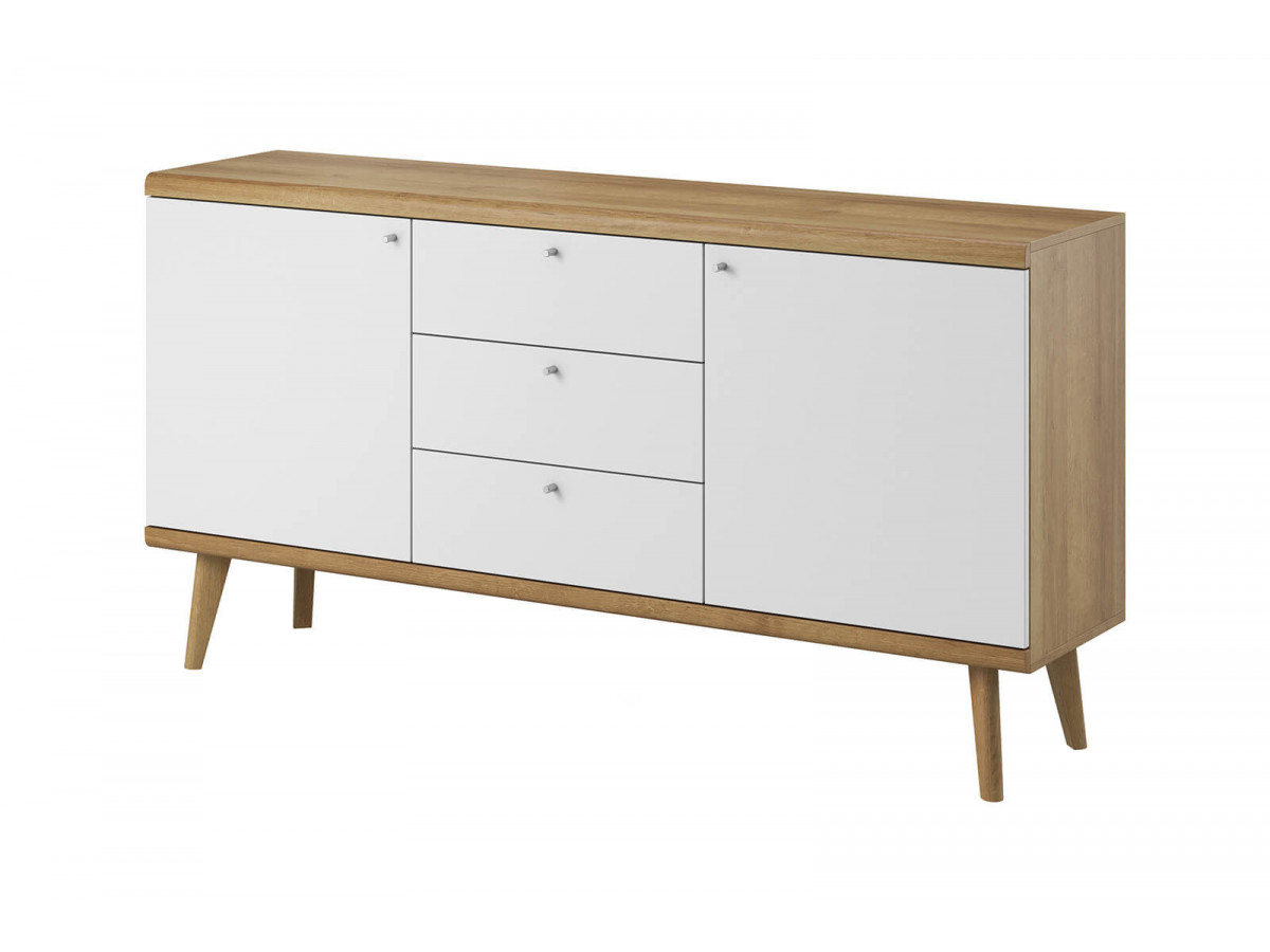 Low Buffet 160 PRIMINO white and wood Subleem ®