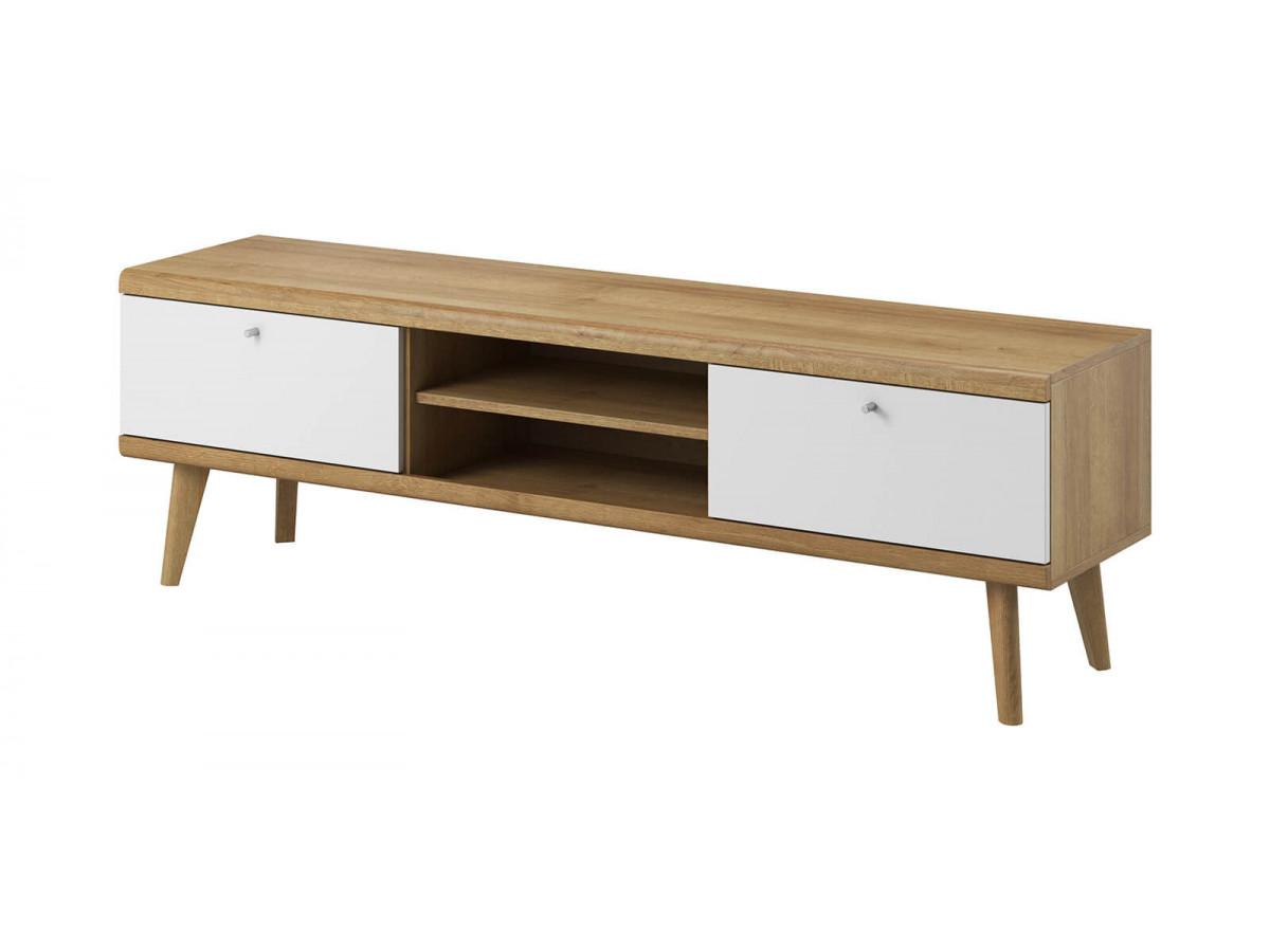 Furniture tv160 PRIMINO white and wood Subleem ®