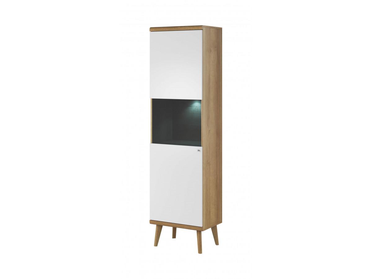 Showcase high-PRIMINO white and wood Subleem ®