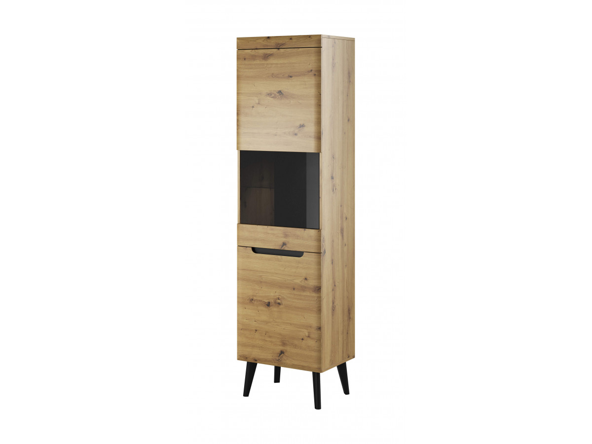 Showcase high-NORDI RETRO black and oak Subleem ®