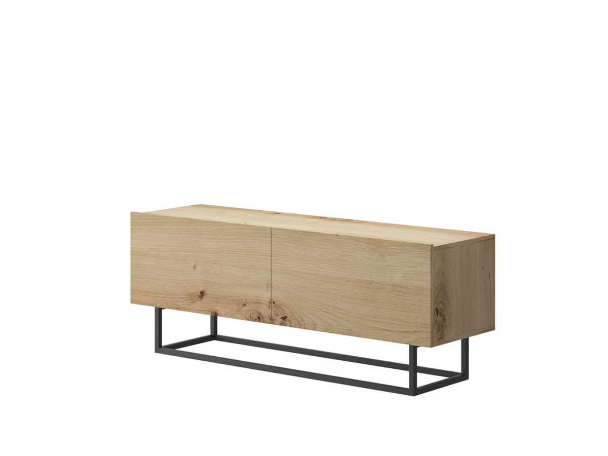 Tv stand ENJOY IT in oak and black Subleem ®