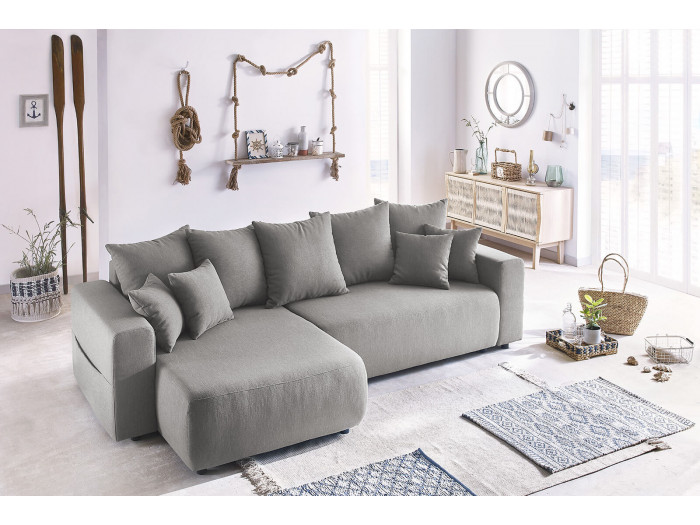 Corner sofa reversible convertible trunk ENVY