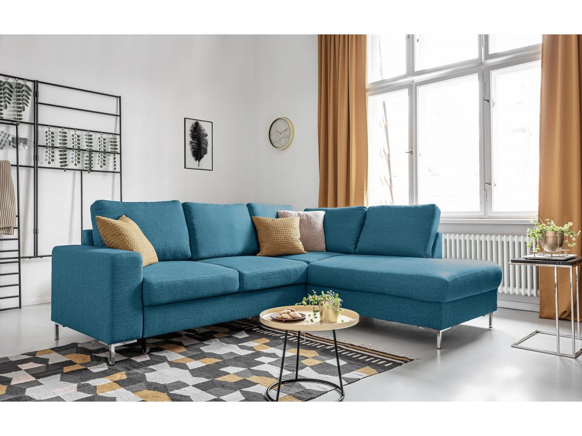Corner sofa convertible L LILLY