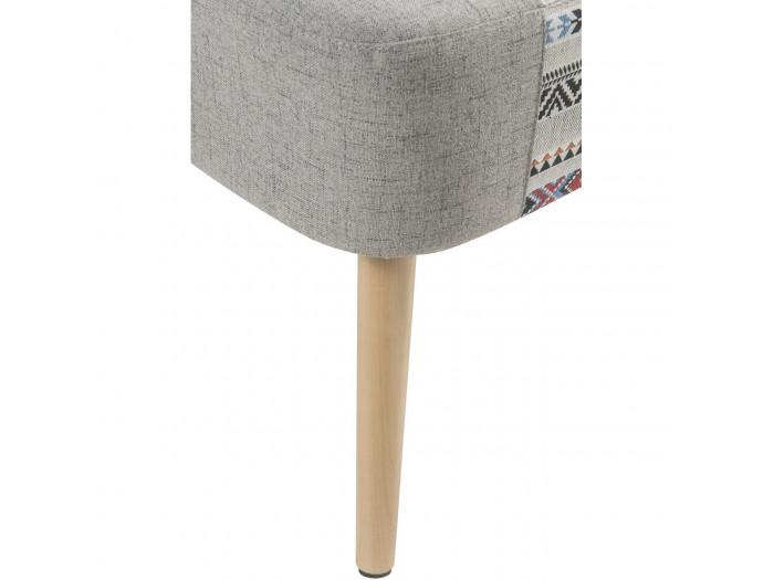 Armchair in fabric, WANDA