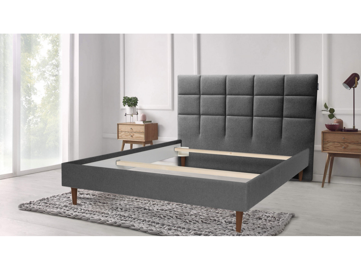 Structure of bed CARRE 140 x 190 cm