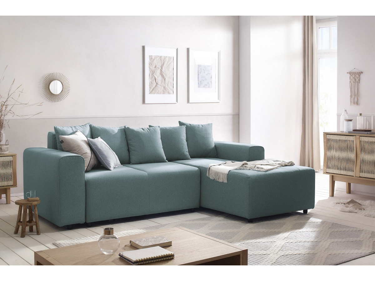 Corner sofa convertible in FARO