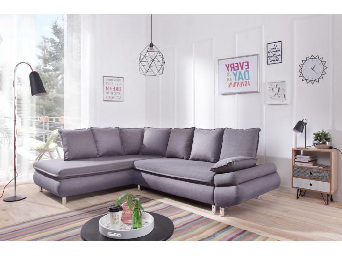 Sofa large corner convertible with storage NESTOR