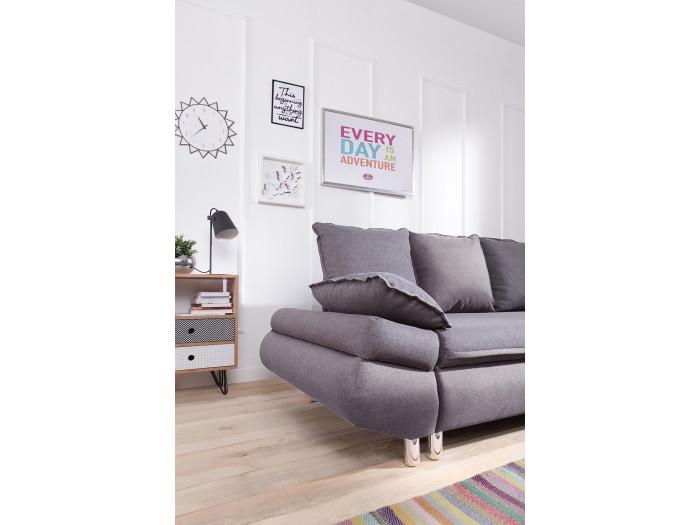 Sofa big corner convertible with storage NESTOR
