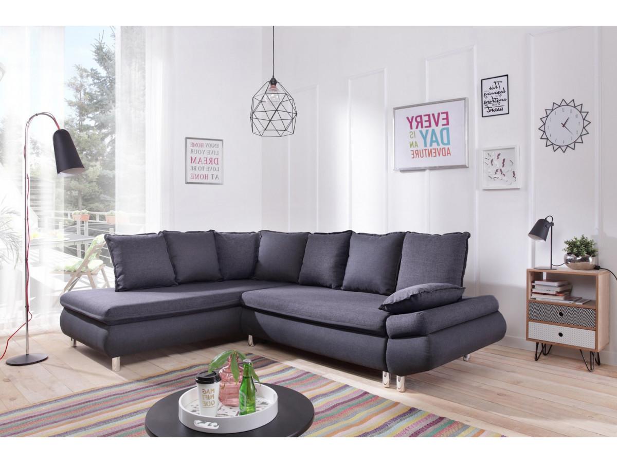 canap grand angle convertible coffre nestor bobochic. Black Bedroom Furniture Sets. Home Design Ideas