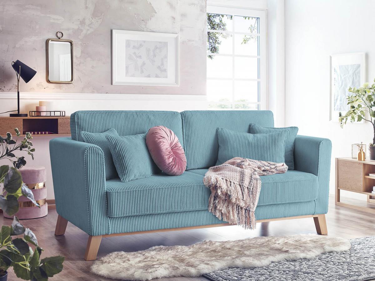 Sofa right corduroy DOBLO