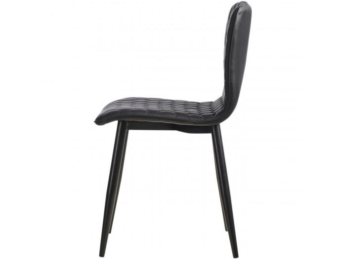 Lot de 4 chaises Vega style industriel