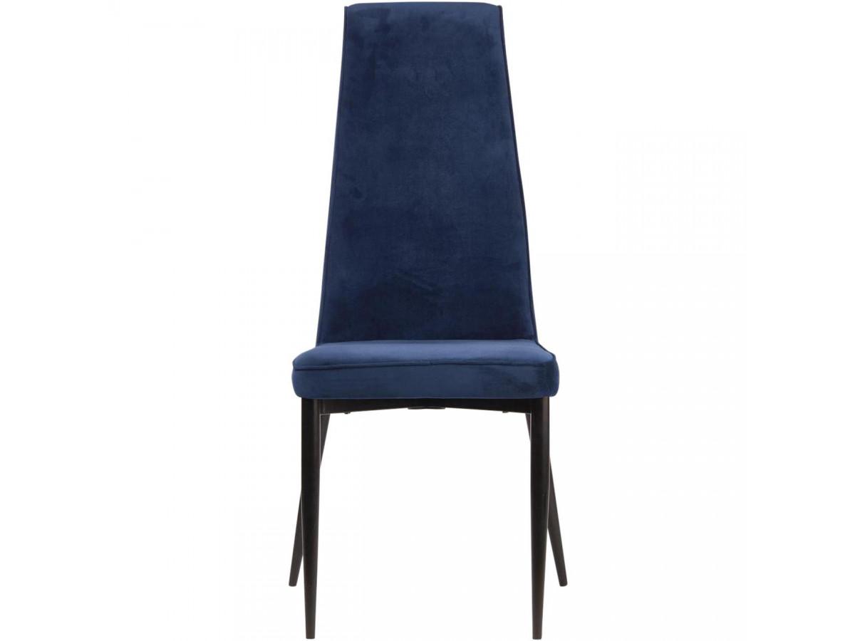 Lot de 4 chaises PRESTIGE en velours