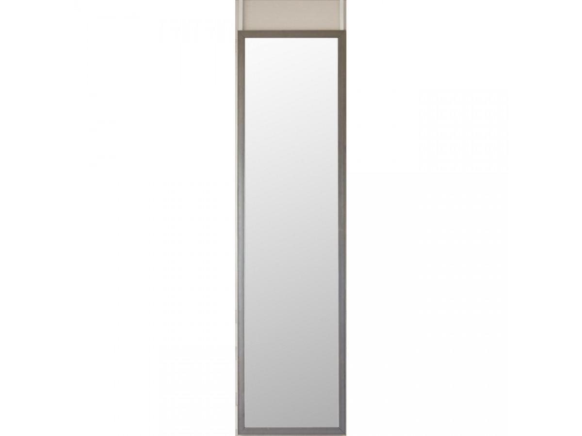 Miroir de porte elegant avec moulure en PVC Louis1