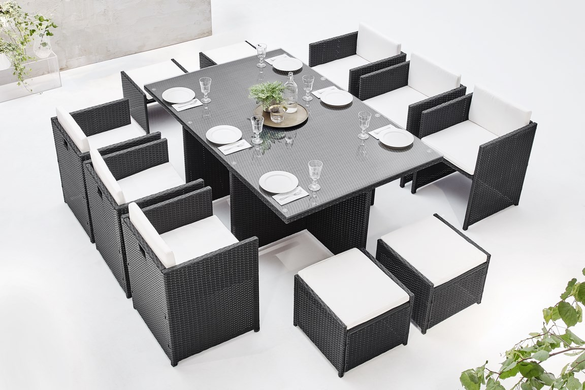 salon de jardin family 10 places bobochic paris. Black Bedroom Furniture Sets. Home Design Ideas