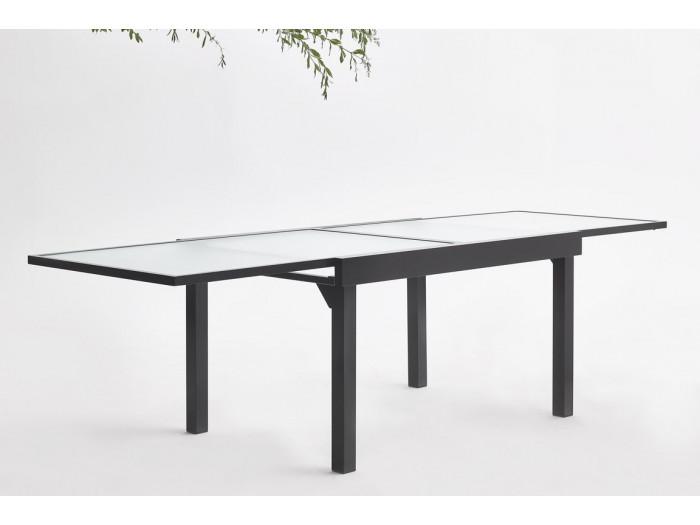 Garden furniture aluminium 8 seater Milano