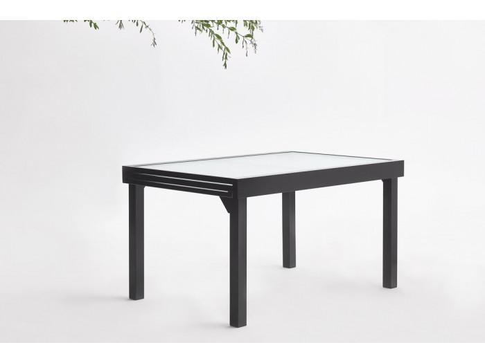 Gartenmöbel, aluminium, 10 plätze Milano