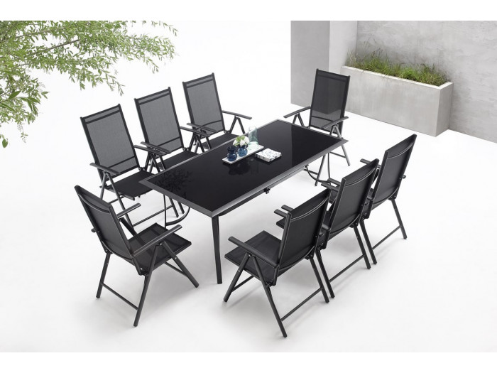 Garden furniture aluminium 8-seater Rialto