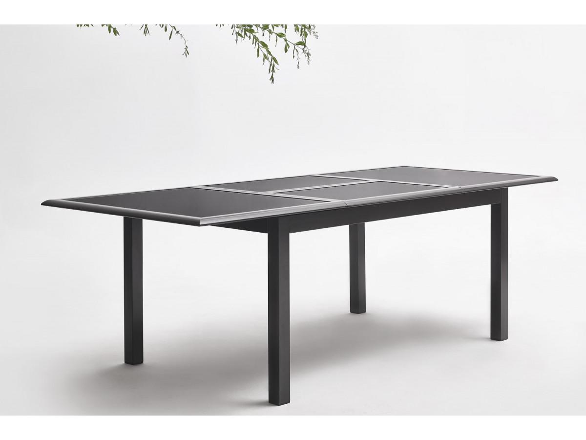 Salon de jardin aluminium 6 seater torino bobochic paris for Jardin 6