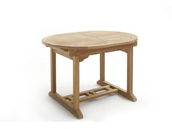Table Ovale 10 chaises + 2 fauteuils Brut Massif