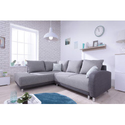 Corner sofa convertible Minty L